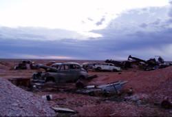 Plains Empty - car graveyard