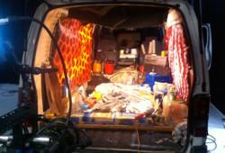 Mother Courage - interior van shoot