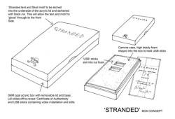 Stranded - Artwork travel case concept