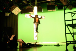 Stranded - 3D green screen shoot