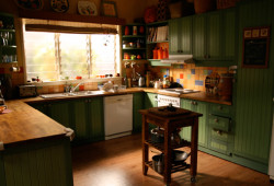 Packed to the Rafters - kitchen